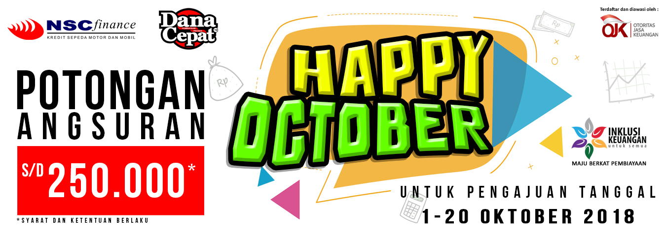 Program M2W : Happy October 2018